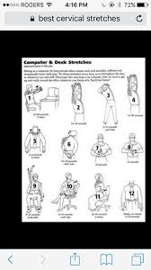 Computer And Desk Stretches Sheena U0027s Massage Therapy Home Facebook