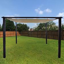Retractable Shade Pergola by Replacement Canopy For Taylor Pergola Riplock 350 Garden Winds