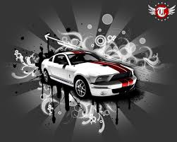 ford mustang home decor home decor wallpaper group 48