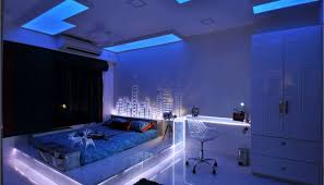 Neon Lights For Bedroom Neon Lights For Bedroom Inspirations With Blue Light Bed