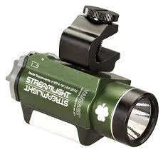 Tactical Helmet Light Streamlight 69189 Vantage Helmet Mounted Light With White Green