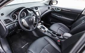nissan sentra 2018 interior 2013 nissan sentra sl editors u0027 notebook automobile magazine