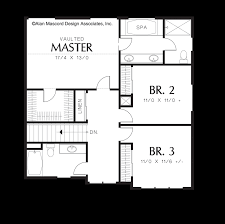 mascord house plan 22142a the morrison