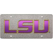 lsu alumni license plate lsu license plates lsu tigers license plate frames lsu alumni plate