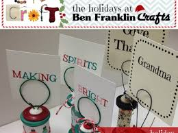 how to make holiday card holders with spools u0026 wire snapguide