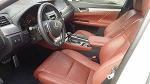 lexus service pick up just pick up a gs f sport white cabernet leather clublexus