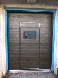 backyards residential walk through garage door installation