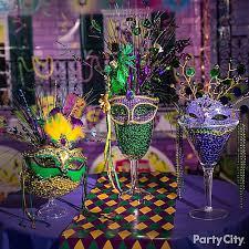 mardi gras display idea mardi gras decorating ideas