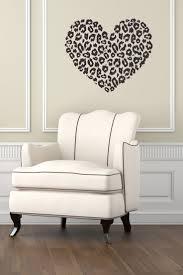 best 25 cheetah room decor ideas on pinterest cheetah print vinyl decal heart with leopard cheetah dots wall art by decalhouse 24 65