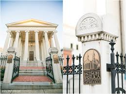 annapolis wedding venues baltimore basilica wedding ceremony tpoz photography www