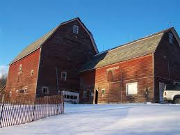 gambrel roof barns settlers mountain barn home heritage restorations