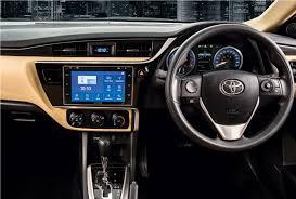 toyota corolla 2017 interior toyota corolla altis 1 6 toyota central motors models u0026 prices