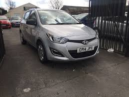 hyundai i20 2014 silver 1 2 petrol manual 5 door hatchback low