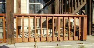 Premade Banister Bedroom Elegant How To Build A 2x4 Deck Rail On Concrete Patio Pre