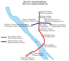 Moscow Metro Map by Novosibirsk Metro Map Russia
