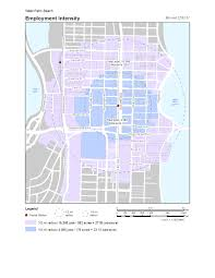 Palm Beach Map West Palm Beach Place Type Analysis