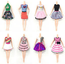 beautiful handmade fashion clothes dress for doll
