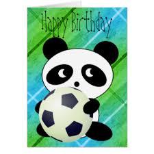 happy birthday panda greeting cards zazzle com au