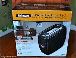 fellowes p 12c cross cut paper shredder review savvy saving couple