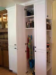 12 inch broom cabinet broom pantry cabinet free standing broom closet medium size of
