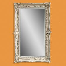 Mirror Sets For Walls Furniture Silver Oversized Floor Mirror With Leather Chair And