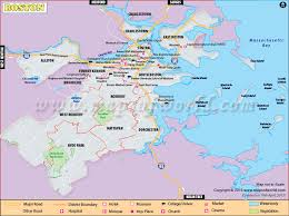 map usa states boston map of usa showing boston 4420455 vector color map of