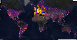 World Google Map by Google Maps Out The Most Photographed Places Of The World