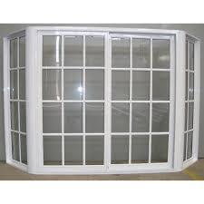 ventana bow window aluminio blanco repartido 150x150 rajas ventana bow window aluminio blanco repartido 150x150 rajas