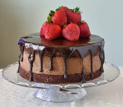 chocolate whipped cream cake with strawberries recipe whipped