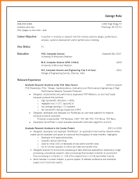 Resume For Computer Science Graduate Computer Science Phd Student Resume Global Warming What To Write