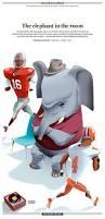 fiesta bowl the elephant in the room u2013 chris morris illustration