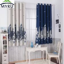 childrens bedroom curtains myru blue castle shade cloth curtain childrens bedroom curtains