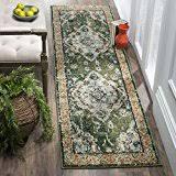amazon com green runners area rugs runners u0026 pads home