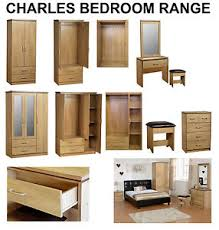 bedroom set with vanity table new charles oak bedroom furniture units large wardrobe dressing