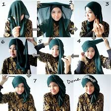 tutorial hijab resmi papasemar com 11 tutorial hijab segi empat simpel ini akan membuat