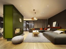 Green Grey Living Room Ideas Contemporary Home Design Ideas Arranged With A Gray And Wooden