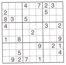 printable sudoku puzzles 5 coloring kids
