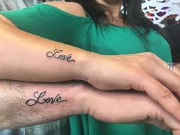 50 meaningful matching tattoos for men and women 2018