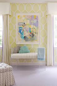 Yellow Curtains Nursery by Nursery Collins Interiors Little Ones Pinterest Nursery