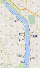 Map Of St Paul Mn Highland Park St Paul Ford Pkwy U2013 Franklin Ave Loop Running St