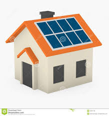 solar panels clipart house with solar panels stock illustration image of power 23531189