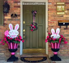 Easter Wooden Yard Decorations by 283 Best Easter Door Porch Outdoor Ideas Images On Pinterest
