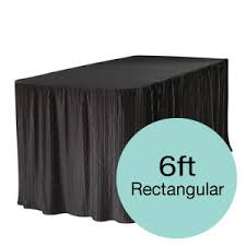 tablecloth for 6 foot folding table products