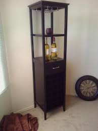 18 bottle wine tower with rack and shelves walmart com
