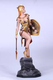 greek god statue fantasy figure gallery greek myth collection athena wei ho 1 6