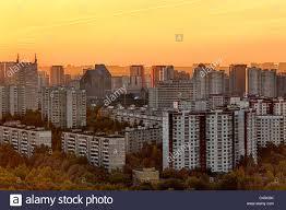 European Houses Europe European Eastern Europe Moscow Russia Russian City