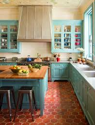 Terracotta Floor Tile Kitchen - townhouse elegance and country style decoholic