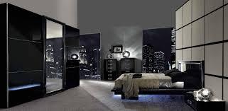bedroom endearing black modern bedroom sets furniture black