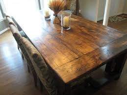 rustic square dining table cute polka dot table cloth inspiration