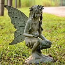 Fairies For Garden Decor Garden Fairies Statues All Products Outdoor Outdoor Decor